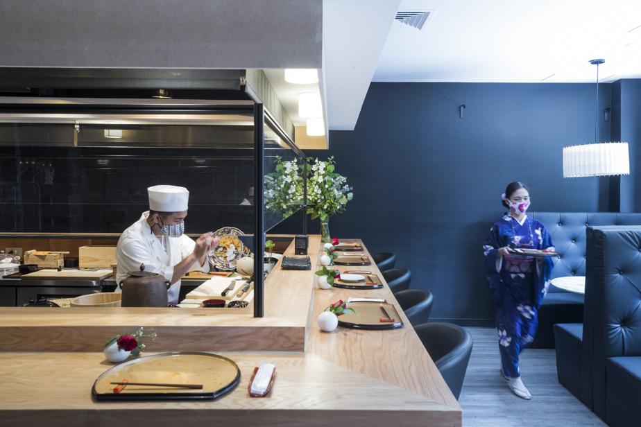 L'Okeya Kiujiro est un omakase traditionnel: le menu est entièrement au choix du chef.
