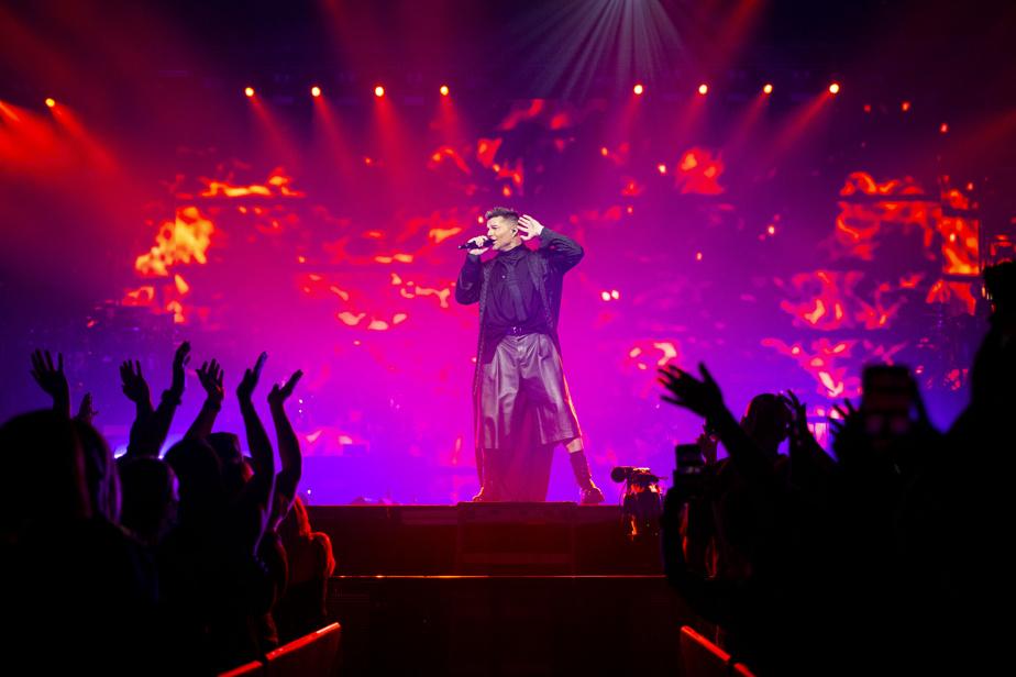 Les stars de la pop latine Ricky Martin (sur la photo) et Enrique Iglesias ont chanté devant une salle comble, samedi soir au Centre Bell, une première depuis le début de la pandémie.