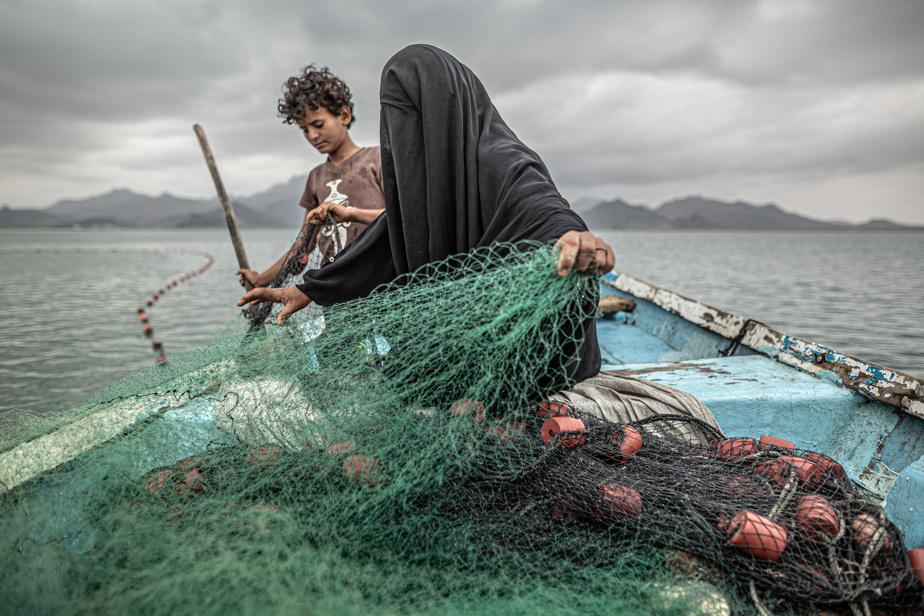 La plus grande crise humanitaire: c'est ainsi que l'UNICEF décrit la situation au Yémen, où un conflit armé déchire le pays depuis 2014. Au début de l'année 2020, près des deux tiers de la population, soit plus de 20millions de personnes, avaient besoin d'aide extérieure pour subvenir à leurs besoins alimentaires. Photo nommée dans la catégorie «Enjeux contemporains».