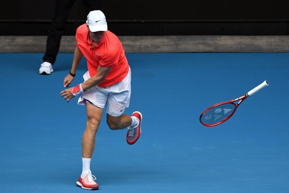 Open d'Australie > Shapovalov :