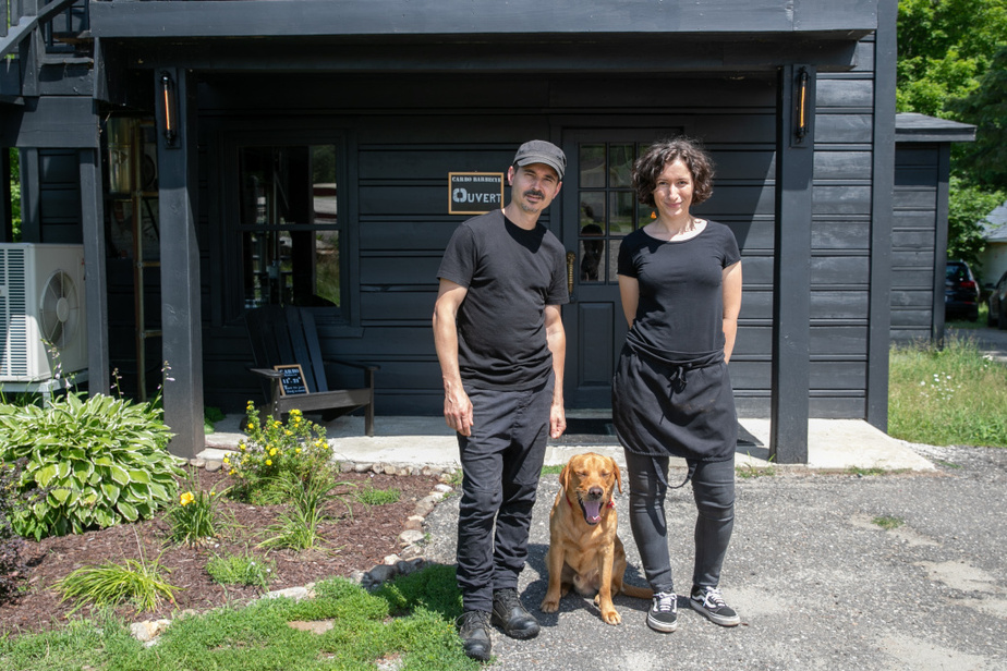 Martin Carboni et Fanny Cherubini se sont rencontrés en travaillant en restauration à Montréal.