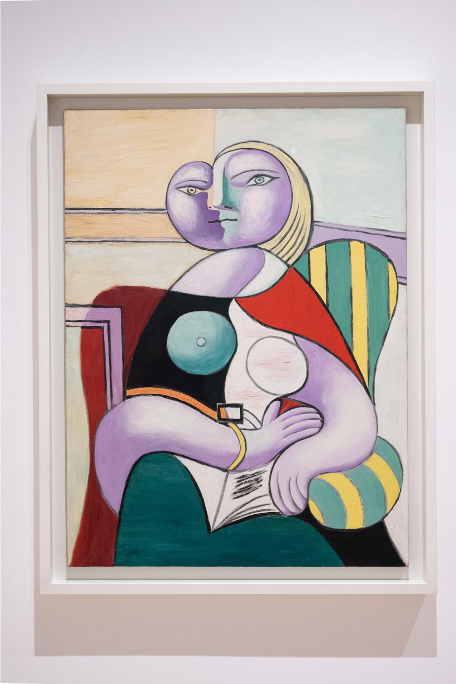 La lecture, 1932, Pablo Picasso, huile sur toile, 130 x 97,5cm