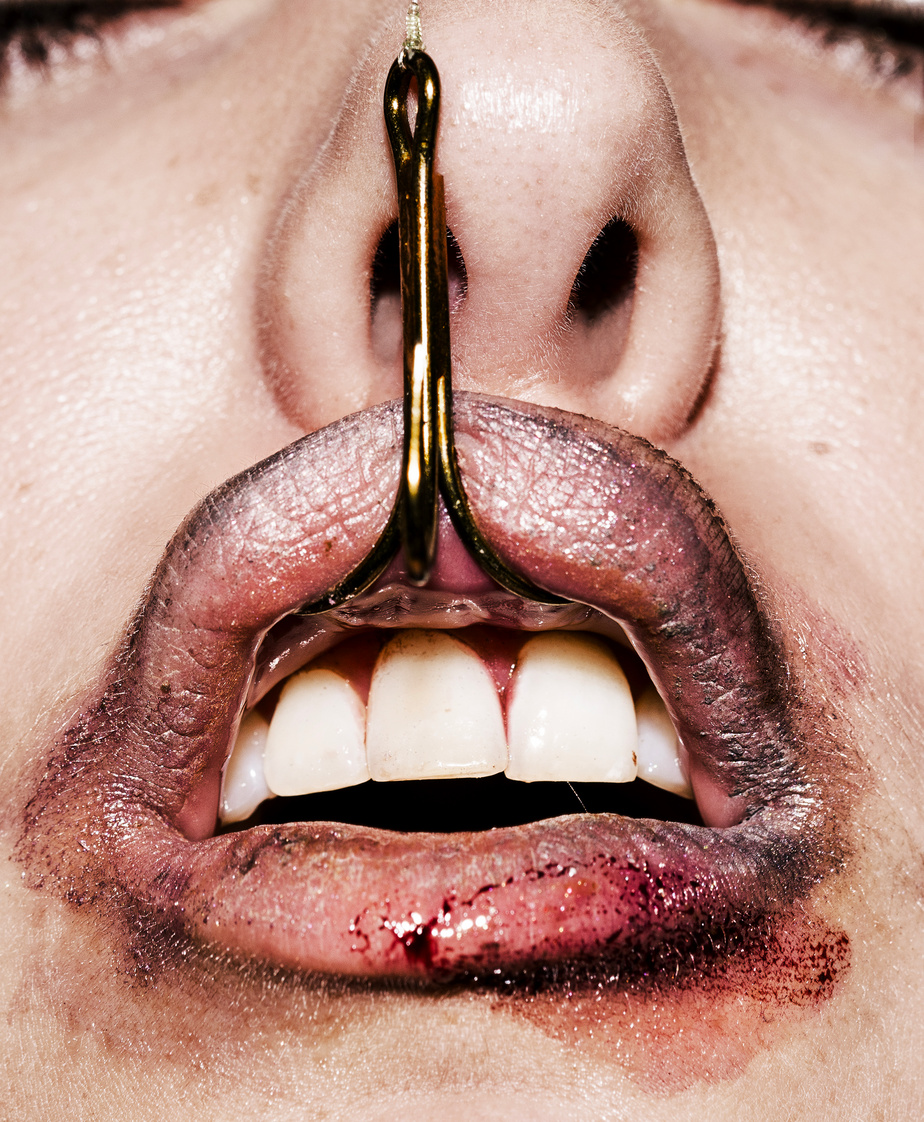 Alexandre Deslauriers a beaucoup contesté les règles établies en beauté, comme celle selon laquelle une bouche doit être parfaite.