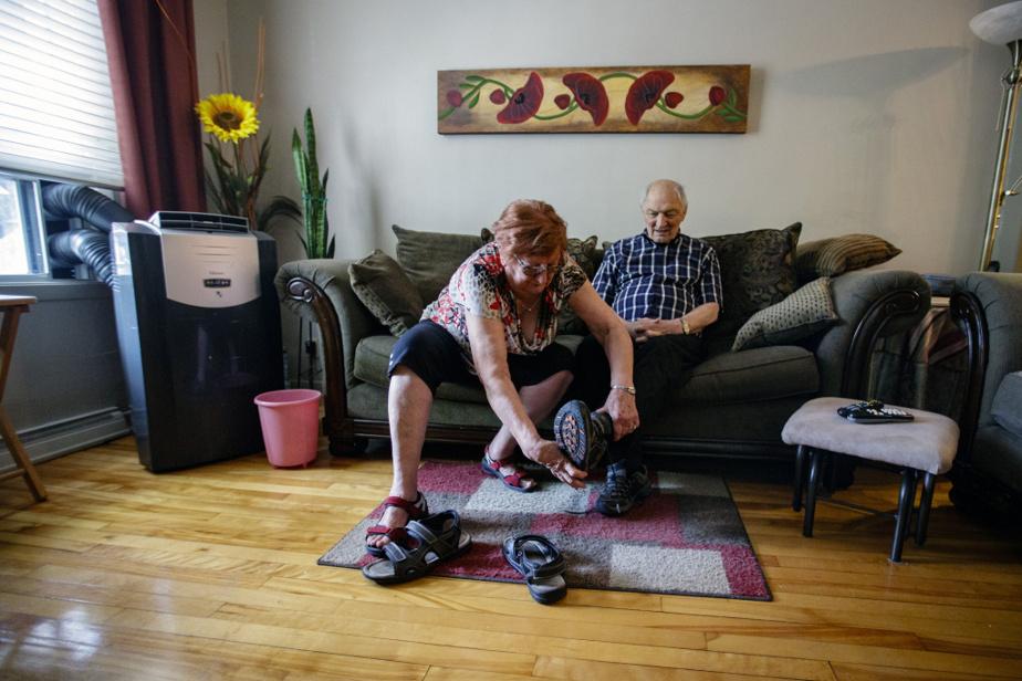 Le printemps dernier, M.Tremblay s'est sauvé de la maison et sa femme l'a retrouvé un kilomètre plus loin. «Maintenant, je suis maniaque. Je barre tout. Et je m'inquiète au moindre bruit», dit-elle.