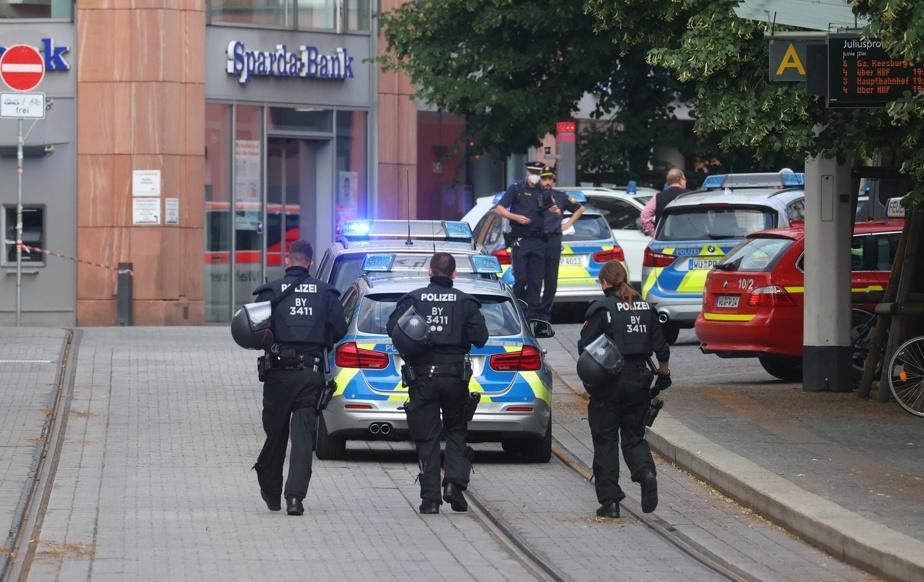 Allemagne | Une agression fait trois morts et cinq blessés à Wurtzbourg |  La Presse