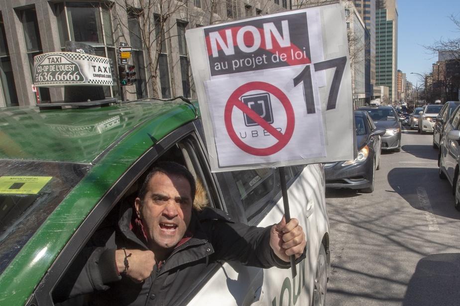 Des chauffeurs de taxi de Magog se joignent au mouvement de grève
