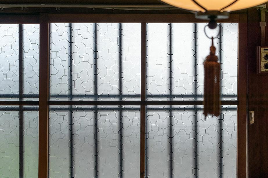 Détails sur les vitres
