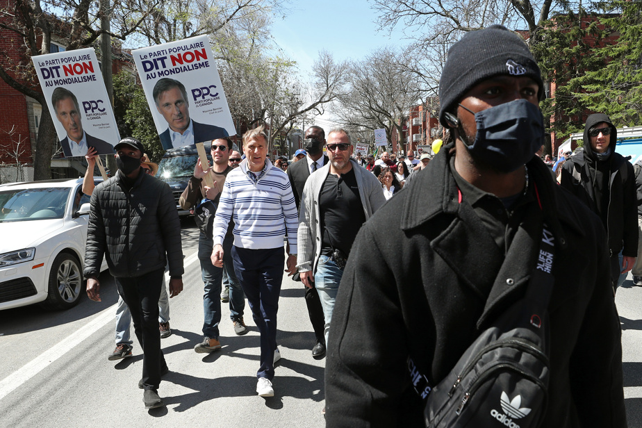 Le chef du Parti populaire du Canada, Maxime Bernier, a participé à la manifestation.