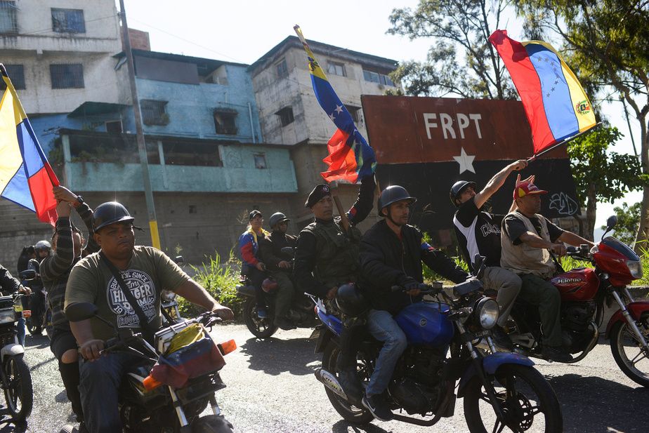 Emmanuel Macron a reçu l'opposant Juan Guaido à l'Elysée — Venezuela
