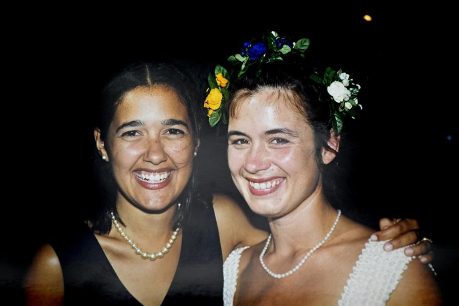 Sophie et Elisabeth, en1998
