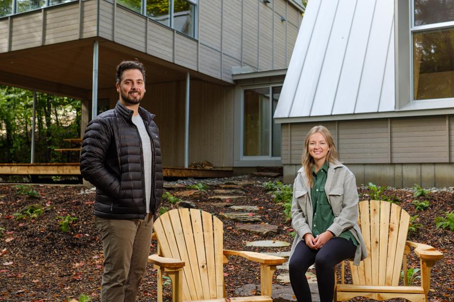 Jean-Daniel Petit et Éliane Cadieux, cofondateurs de BESIDE Habitat.