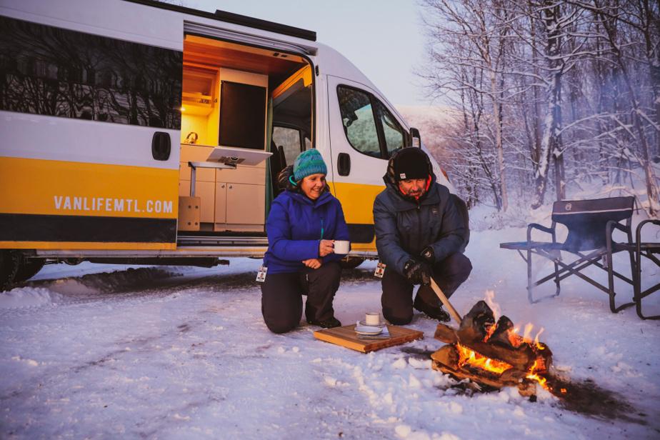 Les joies de l'aventure hivernale