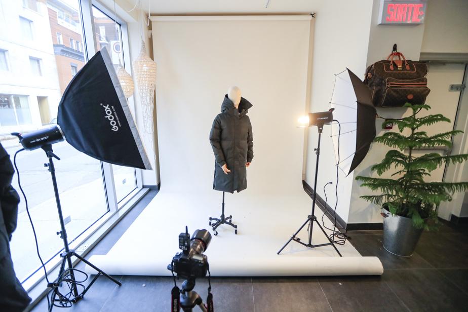 Le nouvel atelier-boutique d'Olmsted sert aussi destudio.