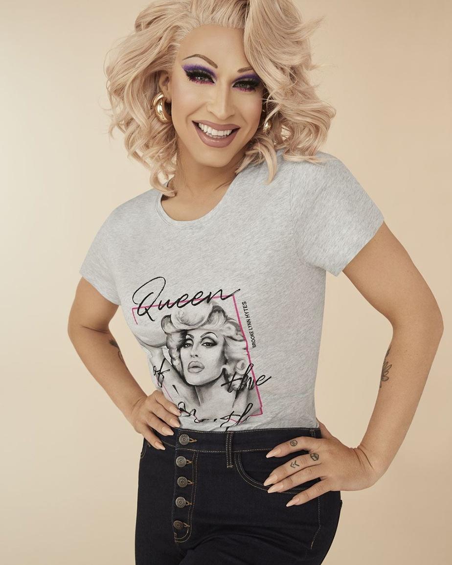 Brooke Lynn Hytes, drag queen et première participante canadienne à l'émission RuPaul's Drag Race