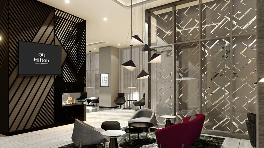 Un complexe hôtelier multi-enseignes Hilton doit ouvrir ses portes en septembre2021.