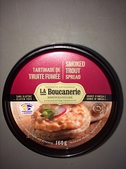 Mousse de truite fumée de National Herring Co.