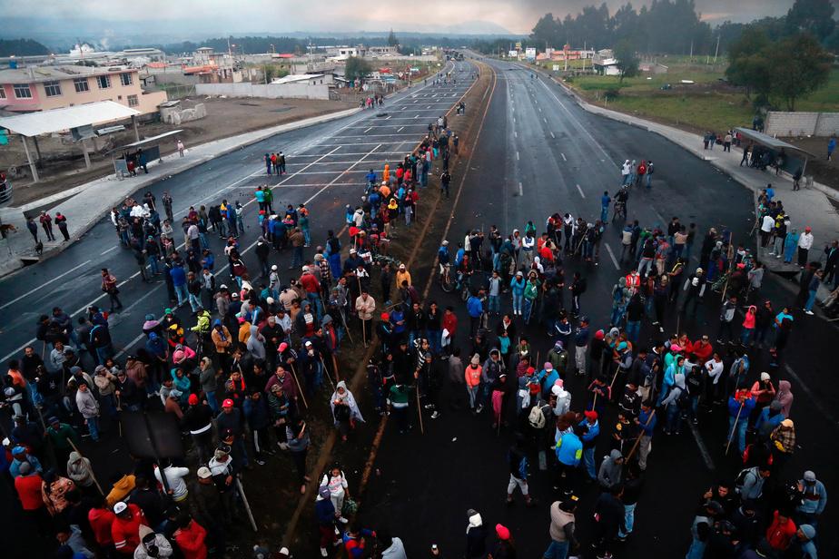 Les indigènes rejettent le dialogue avec le gouvernement — Equateur