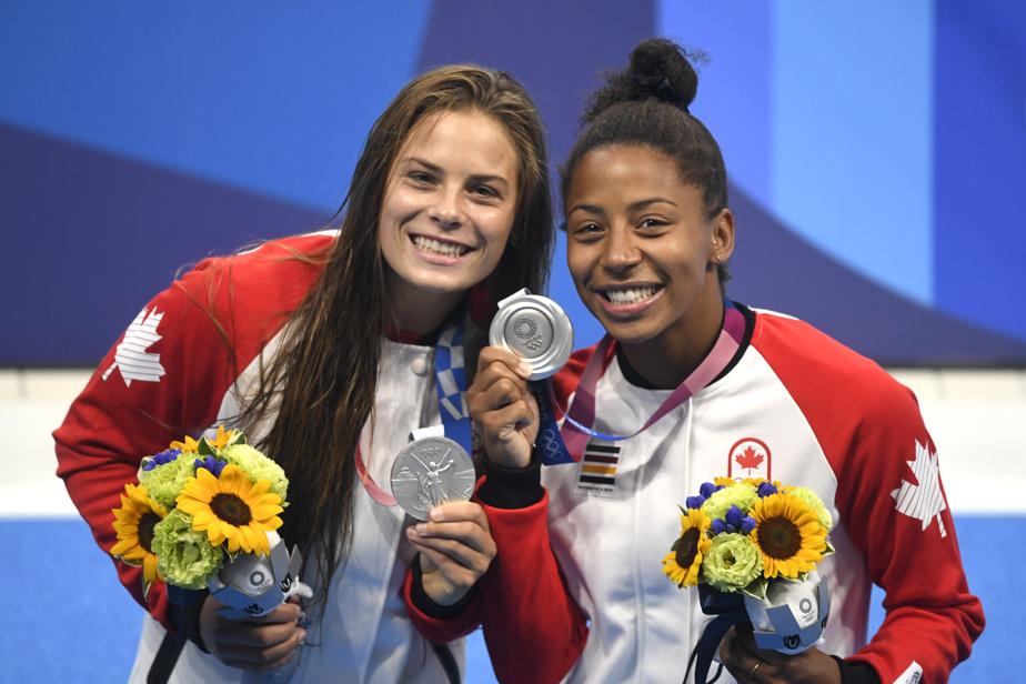 Plongeon 2h– Jennifer Abel, tout juste médaillée d'argent au 3m synchro avec Mélissa Citrini-Beaulieu, participera avec Pamela Ware aux préliminaires du tremplin de 3m en individuel.