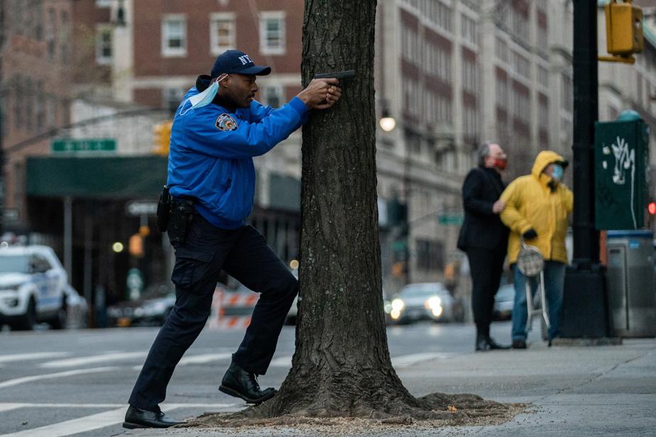 Un homme ouvre le feu devant une cathédrale de Manhattan