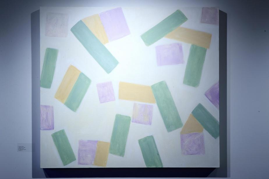Juillet2020 no.2,2020, acrylique sur toile, 92cm x 102cm