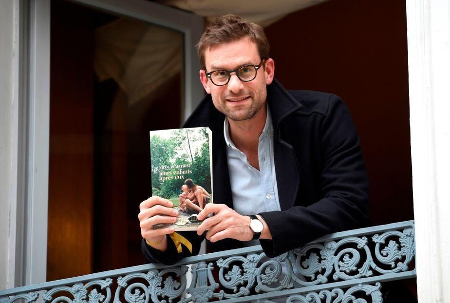 AGENCE FRANCE-PRESSE Le prix Goncourt 2018 a été décerné à Nicolas Mathieu