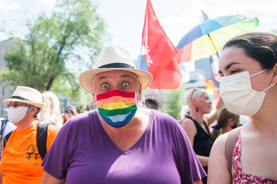 Manon Mass, co-spokesman for the Quebec Solidarity