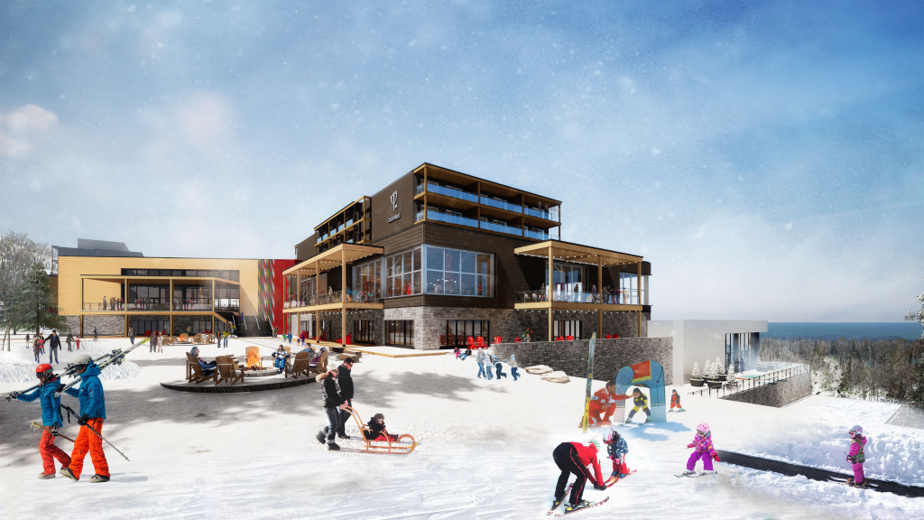 Le Club Med Québec Charlevoix se veut familial.