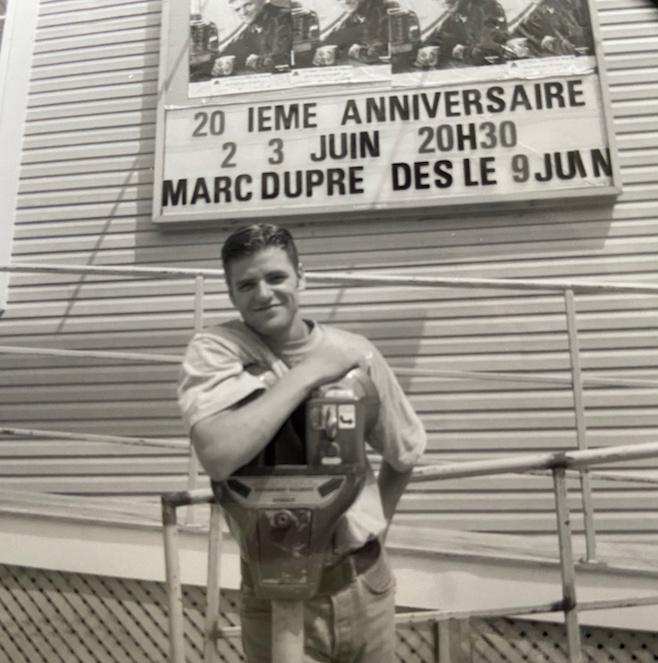 Marc Dupré à sesdébuts