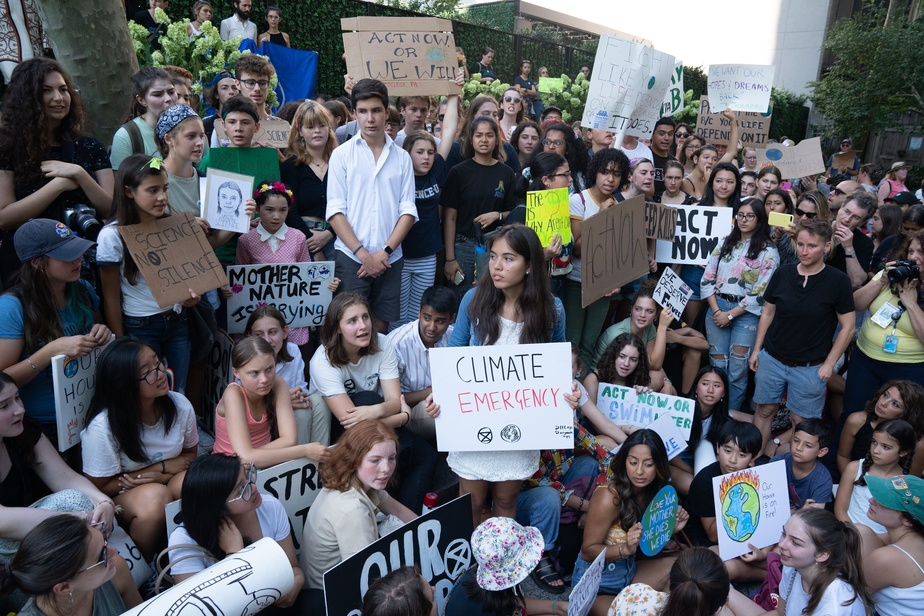 Greta Thunberg à New York: