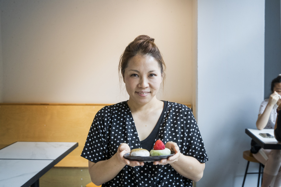 Yukiko Sekiya est une pâtissière de talent et propriétaire du Matcha Zanmai.