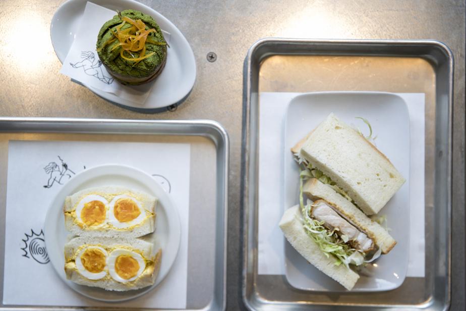 Du côté du café Osmo, les sandwichs de type «sando» sont à l'honneur.