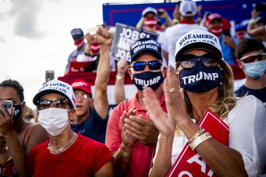 «Le 3novembre sera l'élection la plus importante de l'histoire de notre pays», a estimé Donald Trump devant ses partisans.