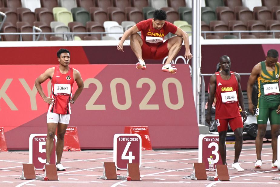 Le Chinois Su Bingtian a un excellent plan B au saut en hauteur si sa carrière au 100m devait stagner.