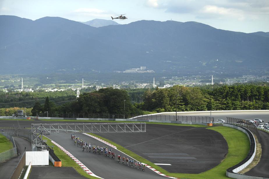 Situé au pied du mont du même nom, le Fuji Speedway a offert un cadre particulier et spectaculaire pour l'évènement.