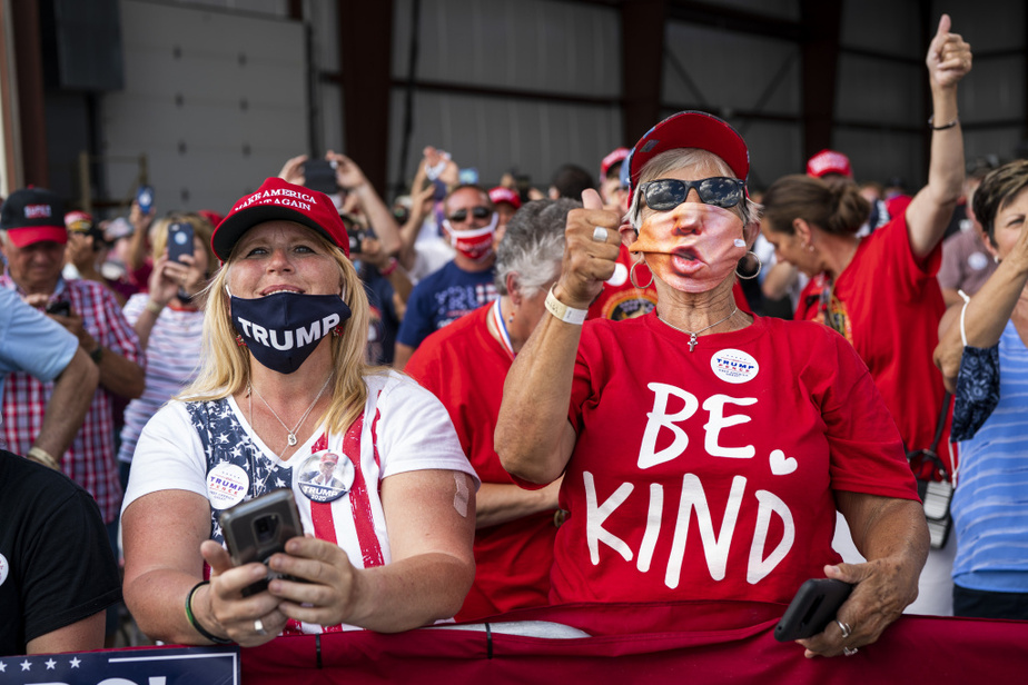 Trump a affirmé que Joe Biden voulait «abolir» l'«American way of life» et transformer les États-Unis en «un pays socialiste ennuyeux».
