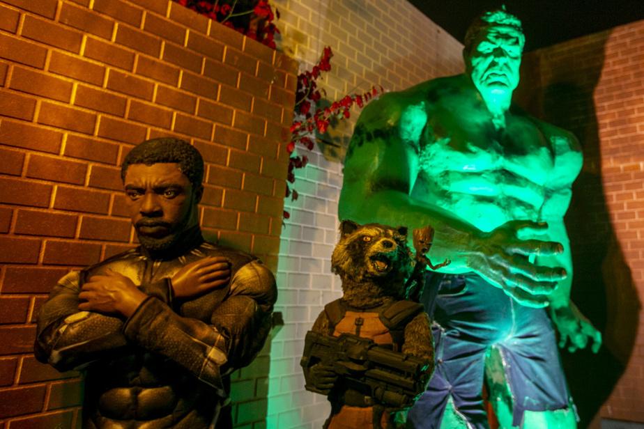 Black Panther, Rocket et Hulk sont là en renfort, si jamais.