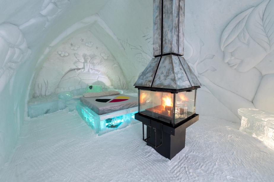 Un foyer pour réchauffer l'ambiance