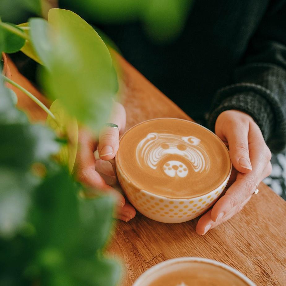 Le café vient d'un torréfacteur québécois.