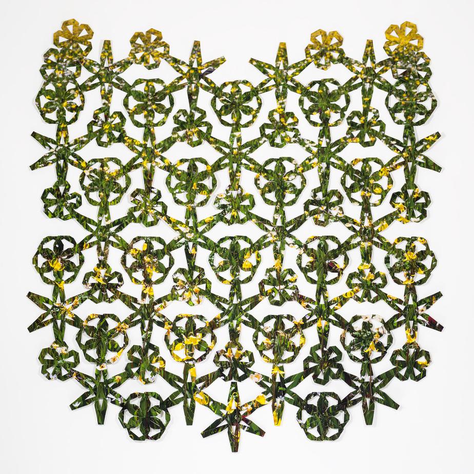 The Knots of the Net, de l'artiste Tyler Los-Jones. Présentée par la galerie Jarvis Hall, de Calgary.