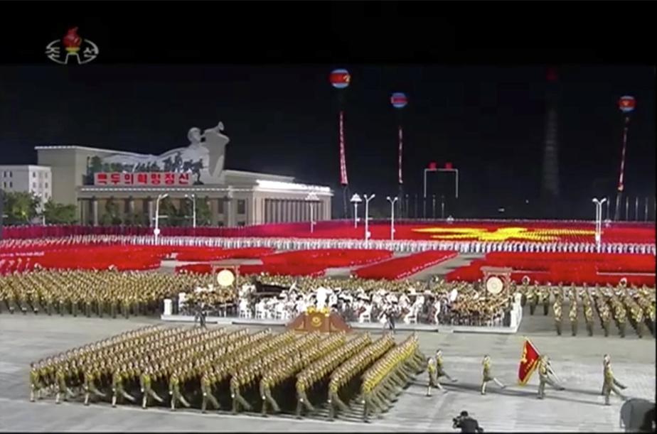 Un défilé militaire géant attendu à Pyongyang, malgré la menace sanitaire