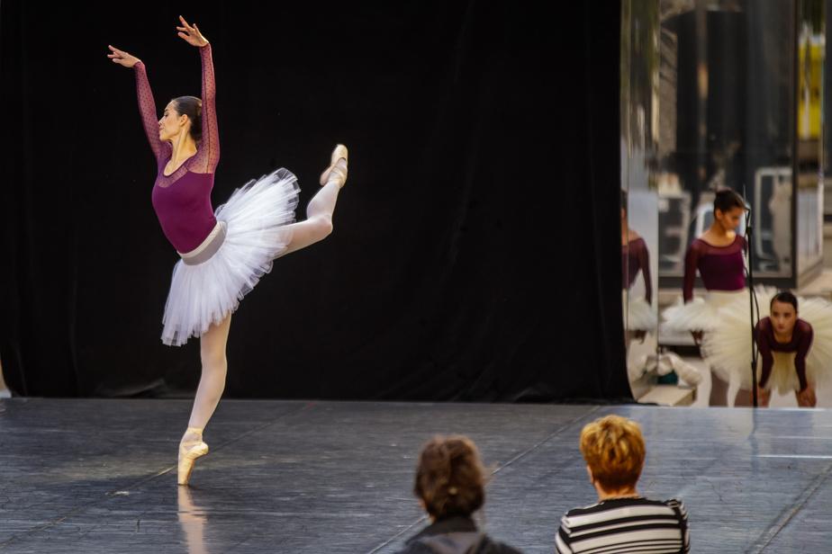 Les interprètes des Grands Ballets ont dansé leur première performance depuis le début de la pandémie, fin août.