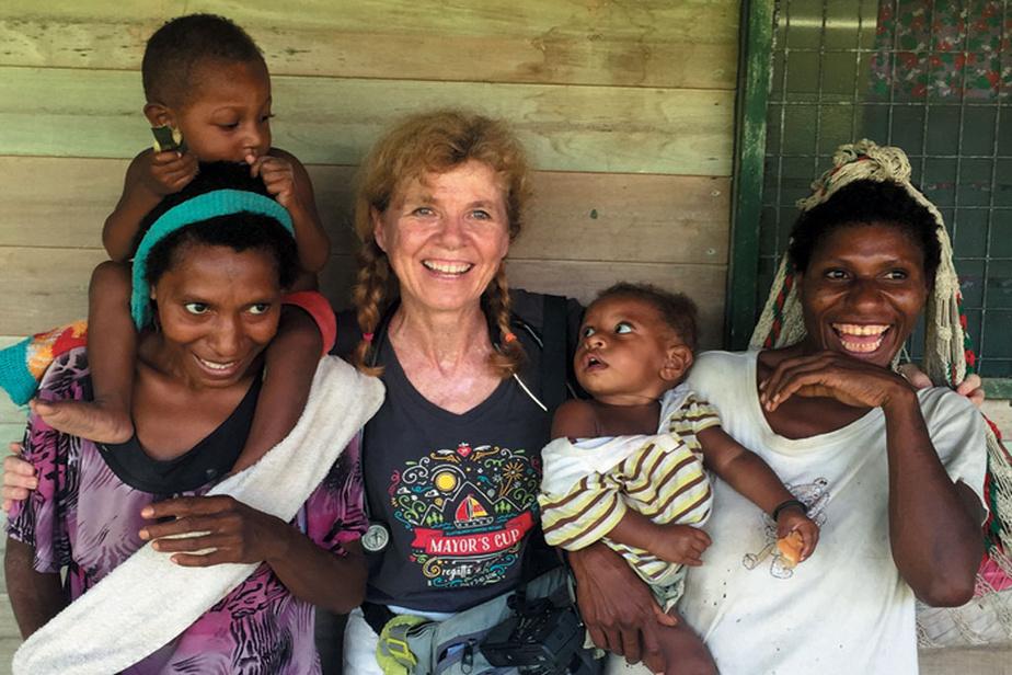 En Papouasie–Nouvelle-Guinée, en 2017