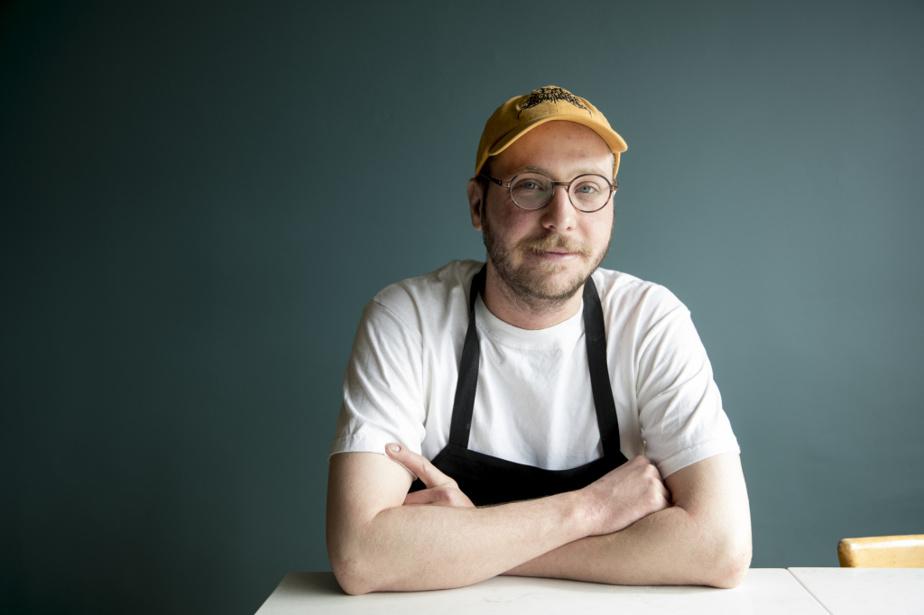 Charles Provost, chef des desserts au restaurant Mastard