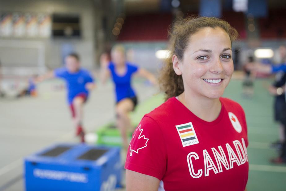 AMÉLIE KRETZ ET JOANNA BROWN Triathlon 17h30 — Amélie Kretz (notre photo) et Joanna Brown sont les deux Canadiennes qui prendront le départ de l'épreuve féminine de triathlon olympique.