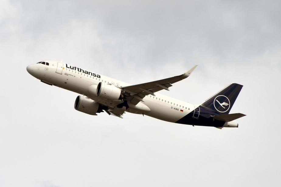 Lufthansa annule 1300 vols — Grève en Allemagne