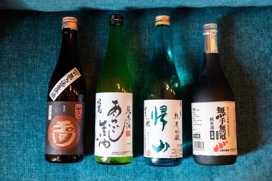 La sélection de sakés de Fleurs&Cadeaux est à découvrir.