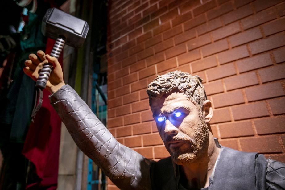 … ainsi que Thor. L'Halloween est sauvée!