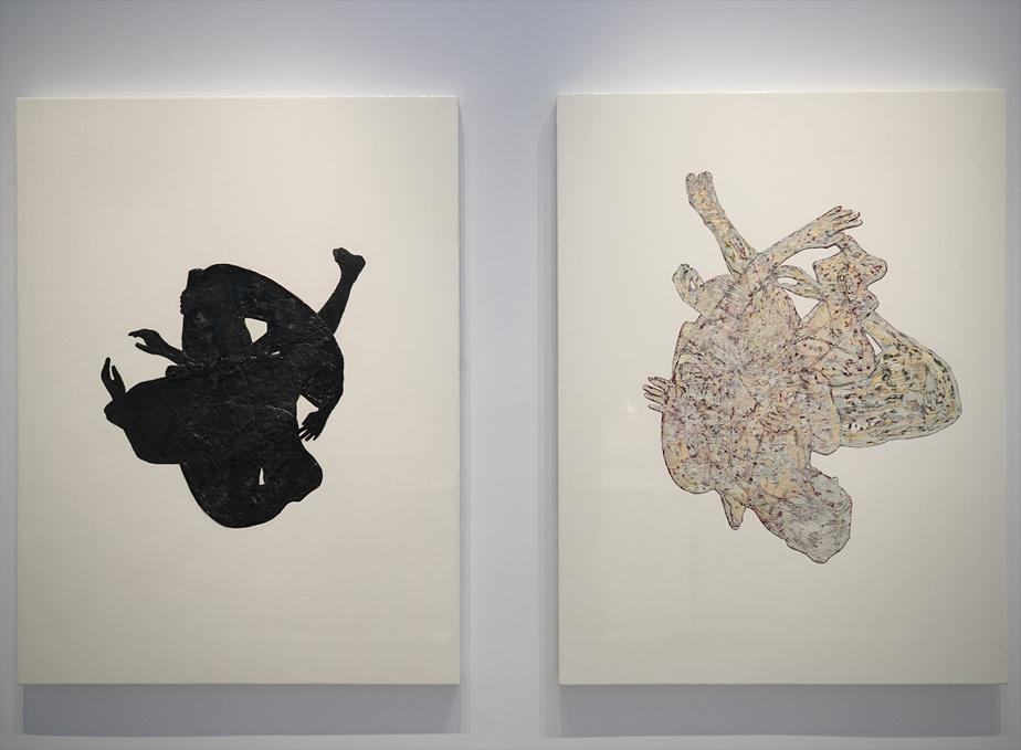 Deux œuvres de la série Chimère