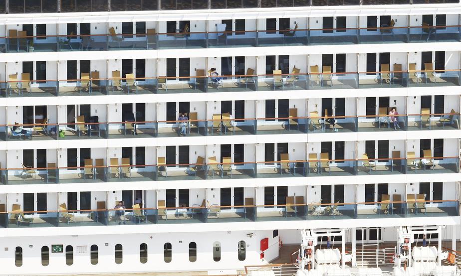 Près de 150 cas à bord d'un navire de croisière au Japon