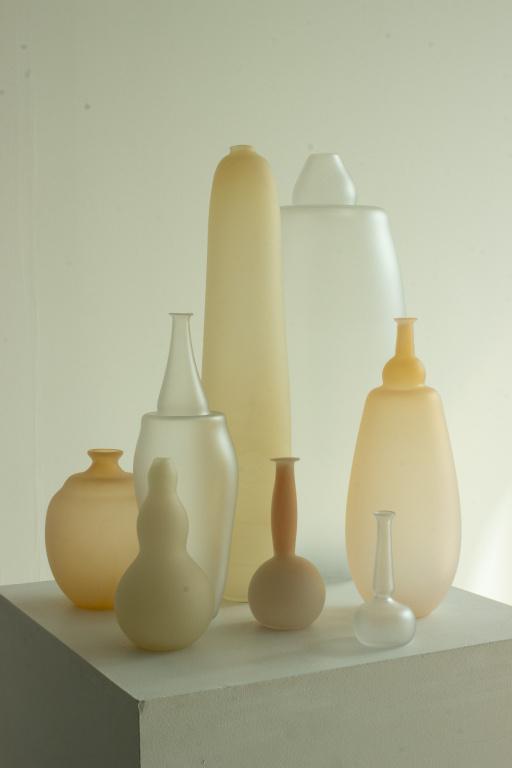 Les vases de Verre d'onge